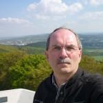 Blick ins Grüne vom Alten Fernsehturm an der Hünenburg